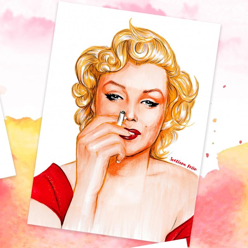 Marilyn Monroe by svetliaciok